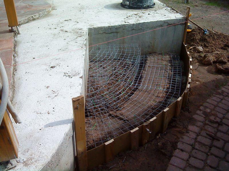 Fomaler Treppenbau